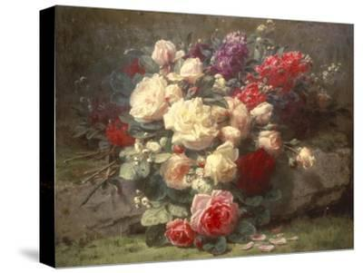 Bouquet of Pink Roses and Scented Stocks