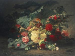 Floral Composition by Jean Baptiste Claude Robie