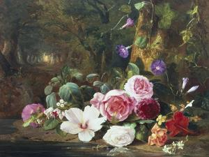 Forest Flowers by Jean Baptiste Claude Robie