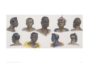 Black People of Different Nations by Jean Baptiste Debret