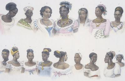 Black Slaves from Different Nations