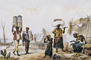 Coal and Vegetable Sellers by Jean Baptiste Debret