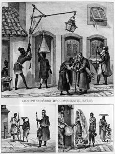 Daily Life in Brazil, from 'Travels in Brazil', Lithographed by Thierry Freres, 1839 (Litho) by Jean Baptiste Debret