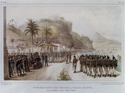 Troops in Prahia Grande for the 1811-14 Expedition Against Montevideo