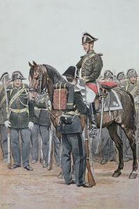 Gendarmerie in Full Dress Uniform, 1887 by Jean-Baptiste Edouard Detaille