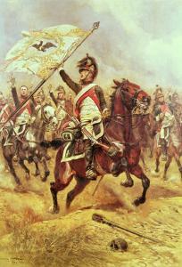 Le Trophee, 1806, 4th Dragoon Regiment, 1898 by Jean-Baptiste Edouard Detaille