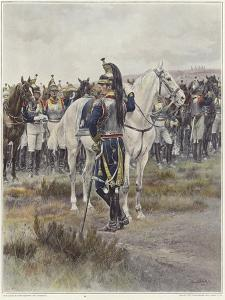 Mounted Cavalry in 1807 by Jean-Baptiste Edouard Detaille
