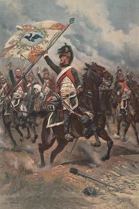 Retour De La Charge, 1806, 1898 by Jean-Baptiste Edouard Detaille
