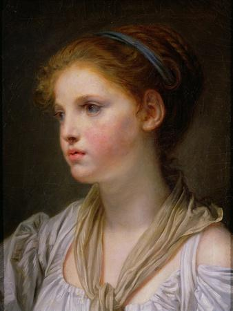 Girl with a Blue Ribbon
