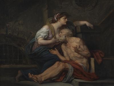 Simon and Pero, Roman Charity, c.1767