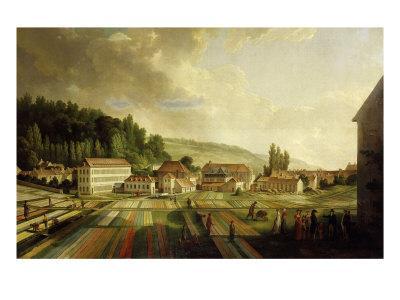 French Royal Textile Factory, Jouy-en-Josas, France, 1806