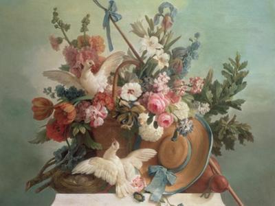 Peace, 1790 by Jean-Baptiste Huet