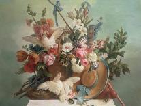Portrait of Marie Antoinette-Jean-Baptiste Huet-Giclee Print