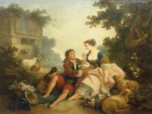 The Dove's Nest, 1785 by Jean-Baptiste Huet