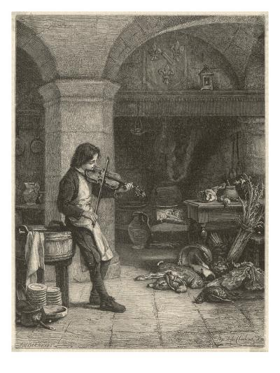 Jean Baptiste Lully French Composer and Court Musician as a Young Boy--Giclee Print