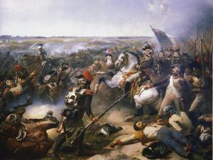 Battle of Fleurus, June 1794 by Jean-Baptiste Mauzaisse