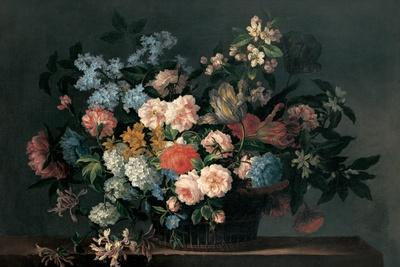 Still Life with Basket of Flowers, C.1690