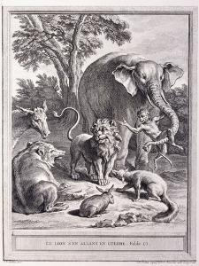 Le Lion S'En Allant En Guerre, C.1755-1759 by Jean-Baptiste Oudry