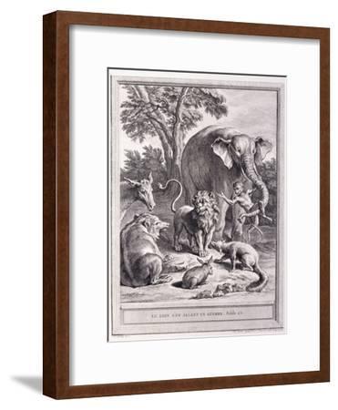Le Lion S'En Allant En Guerre, C.1755-1759