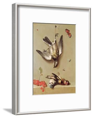 Still Life of Dead Birds and Cherries, 1712