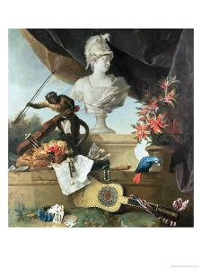 The Four Continents: Europe, 1722 by Jean-Baptiste Oudry