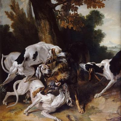 The Wolf Hunt, 1725