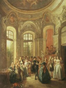 Fete Galante, Music and Dancing by Jean Baptiste Pater
