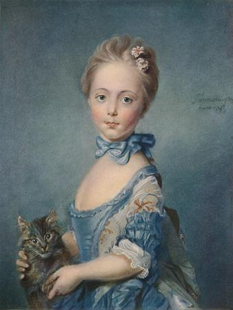 A Girl with a Kitten, 1743, (1902)