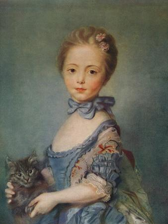 A Girl with Kitten, C1743