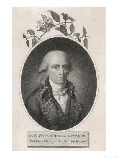 Jean-Baptiste-Pierre-Antoine de Monet de Lamarck French Naturalist--Giclee Print