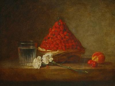 A Basket of Wild Strawberries by Jean-Baptiste Simeon Chardin