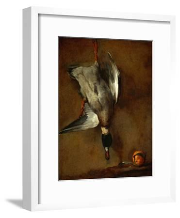 Duck, Hung on a Wall, and a Seville Orange