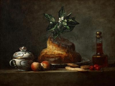 La Brioche by Jean-Baptiste Simeon Chardin