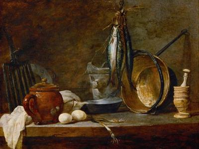 Menu De Maigre, 1731 by Jean-Baptiste Simeon Chardin