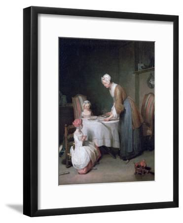 Saying Grace, 1744