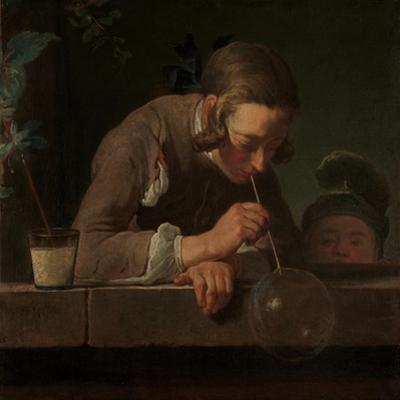 Soap Bubbles, c.1733-34 by Jean-Baptiste Simeon Chardin