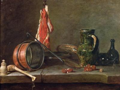 Still Life: Feast Day Menu, 1731 by Jean-Baptiste Simeon Chardin