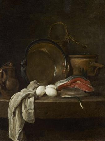 Still Life: the Kitchen Table, C.1755-56 by Jean-Baptiste Simeon Chardin