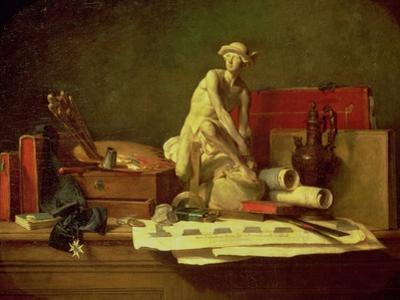Still Life with the Attributes of the Arts, 1766 by Jean-Baptiste Simeon Chardin