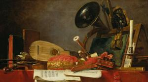 The Attributes of Music by Jean-Baptiste Simeon Chardin