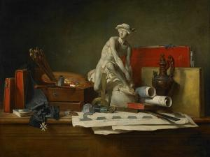 The Attributes of the Arts and the Rewards Which are Accorded Them, 1766 by Jean-Baptiste Simeon Chardin