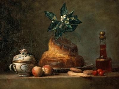 The Brioche by Jean-Baptiste Simeon Chardin