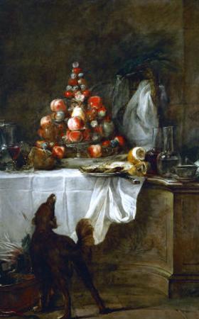 The Buffet, 1728 by Jean-Baptiste Simeon Chardin