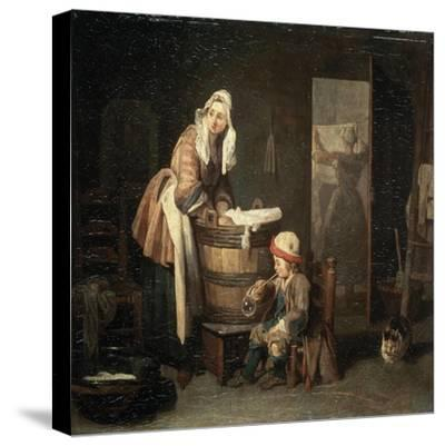 The Laundress, 1730S