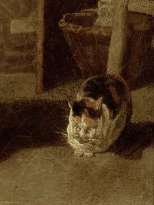 The Laundry Woman by Jean-Baptiste Simeon Chardin