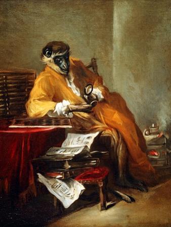 The Monkey Antiquarian, after 1740 by Jean-Baptiste Simeon Chardin