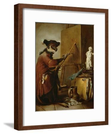 The Monkey as Painter, 1740