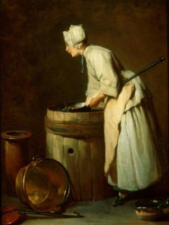The Scullery Maid, 1738 by Jean-Baptiste Simeon Chardin
