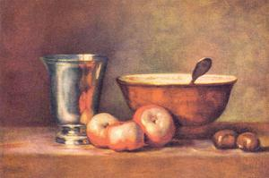 The Silver Cup by Jean-Baptiste Simeon Chardin