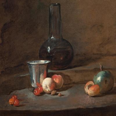 The Silver Goblet, C.1728 by Jean-Baptiste Simeon Chardin